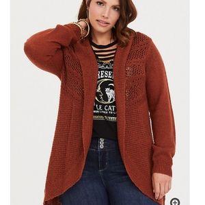 Jackets & Blazers - New! [Torrid] 4x Rust Shawl Cardigan